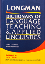 کتاب Longman Dictionary of Language Teaching and Applied Linguistics 4th Edition