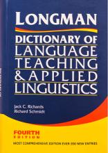 کتاب لانگمن دیکشنری آف لنگویج تیچینگ اند اپلاید لینگویستیکس ویرایش چهارم Longman Dictionary of Language Teaching and Applied Lin