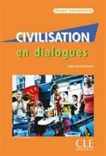 کتاب Civilisation en dialogues - intermediaire + CD سیاه و سفید