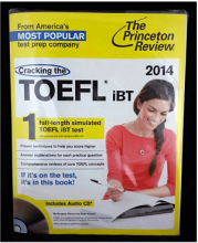 کتاب Cracking the TOEFL iBT 2014 Edition