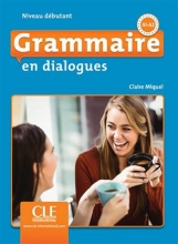 کتاب فرانسه گرامر این دیالوگ ویرایش دوم Grammaire en dialogues - debutant + CD - 2eme edition رنگی