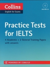 کتاب Collins Practice Tests for IELTS