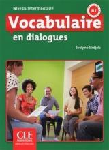 کتاب Vocabulaire en dialogues - intermediaire + CD - 2eme edition سیاه و سفید