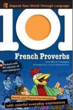 کتاب 101 French Proverbs + CD