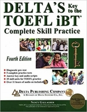 کتاب تافل دلتا Deltas Key to the TOEFL iBT 4th+CD