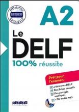 کتاب Le DELF - 100% réusSite - A2 + CD سیاه و سفید