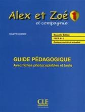 کتاب معلم Alex et Zoe - Niveau 1 - Guide pedagogique