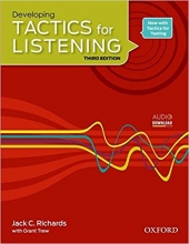 کتاب تکتیس فور لیسنینگ Developing Tactics for Listening Third Edition تحریر