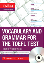 کتاب Collins Vocabulary and Grammar for the TOEFL Test