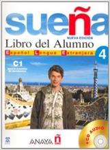 کتاب Suena 4. Libro del Alumno C1. Marco europeo de referencia + CD