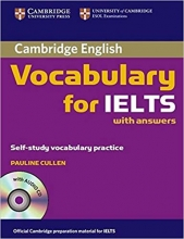 کتاب واژگان آیلتس Cambridge English Vocabulary for IELTS +cd