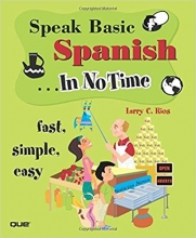 کتاب اسپانیایی Speak Basic Spanish In No Time