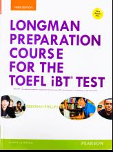 کتاب Longman Preparation Course for the TOEFL iBT Test 3rd Edition