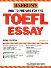 فلش کارت زبان How to Prepare for the TOEFL Essay Barrons