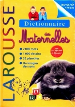 کتاب Larousse Dictionnaire des Maternelles