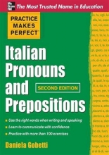 کتاب  Practice Makes Perfect Italian Pronouns And Prepositions