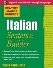 کتاب  Practice Makes Perfect Italian Sentence Builder