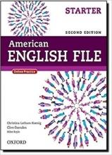 کتاب آموزشی امریکن انگلیش فایل استارتر American English File 2nd Edition: Starter