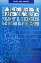 کتاب An Introduction To Psycholinguistics 2nd Steinberg Sciarini