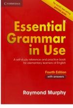 کتاب گرامر اسنشیال گرامر این یوز ویرایش چهارم Essential Grammar in Use Fourth Edition وزیری