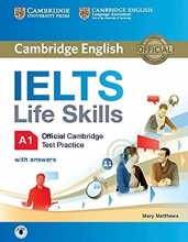 کتاب Cambridge English IELTS Life Skills A1+CD