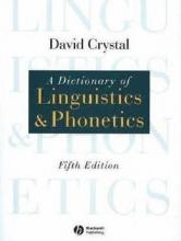 کتاب A Dictionary of Linguistics and Phonetics 5th Edition