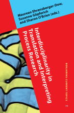 کتاب Interdisciplinarity in Translation and Interpreting Process Research