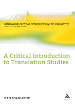 کتاب A Critical Introduction to Translation Studies