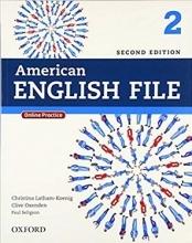 کتاب امریکن انگلیش فایل American English File 2nd 2 SB+WB+DVD تحریر