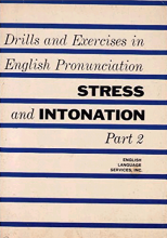 کتاب Drills and Exercises in English Pronunciation Stress and Intonation Part 2