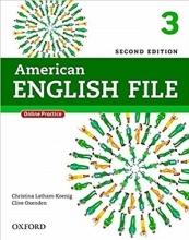 کتاب امریکن انگلیش فایل American English File 2nd 3 SB+WB+DVD تحریر
