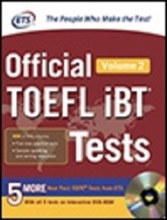 کتاب  Official TOEFL iBT Tests Volume 2, 2nd Edition with DVD