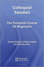 کتاب Colloquial Swedish