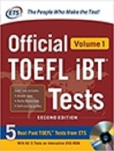 کتاب Official TOEFL iBT Tests Volume 1 2nd Edition with cd