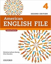 کتاب امریکن انگلیش فایل American English File 2nd 4 SB+WB+DVD تحریر