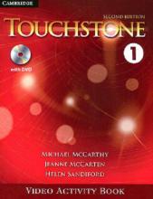 کتاب فيلم تاچ استون Touchstone 1 Video Activity Book 2nd Edition