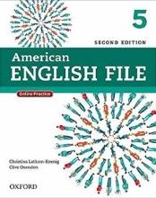 کتاب امریکن انگلیش فایل American English File 2nd 5 SB+WB+DVD تحریر