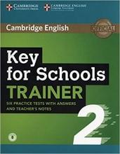 کتاب Key for Schools Trainer 2 Six Practice Tests
