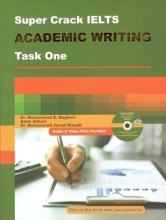 کتاب Super crack IELTS: academic writing: task one