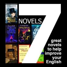 کتاب پک تقویت زبان انگلیسی از طریق 7 رمان