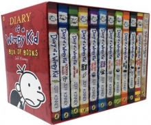کتاب زبان مجموعه 14 جلدی Diary of a Wimpy Kid
