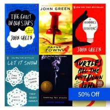 کتاب پک کتاب های رمان جان گرین