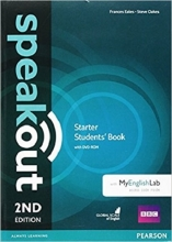 کتاب آموزشی اسپیک اوت Speakout Starter 2nd Edition