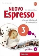 کتاب ایتالیایی اسپرسو Nuovo Espresso 3 (Italian Edition): Libro Studente B1+DVD رنگی