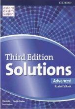 کتاب آموزشی سولوشنز Solutions Advanced 3rd SB+WB+DVD