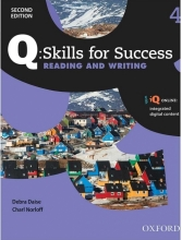 کتاب کیو اسکیلز فور ساکسس Q Skills for Success 4 Reading and Writing 2nd+CD