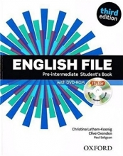 کتاب English File Pre-intermediate Student Book 3rd
