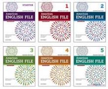 کتاب پک 6 جلدی امریکن انگلیش فایل American English File تحریر