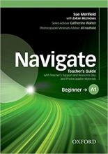 کتاب معلم Navigate Beginner A1 Teacher's Book