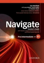کتاب معلم Navigate Pre-Intermediate B1 Teacher's Book